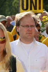 Mit dabei: Gerrit Koch (FDP-Landtagsabgeordneter aus Lübeck)