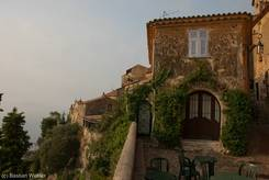 Morgens in Èze