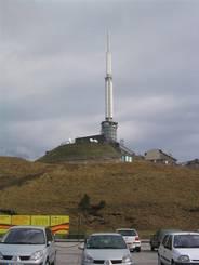 Puy de Dôme: Fernsehturm