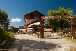 Restaurant und Hotel auf der Passhöhe des Col de Turini
