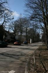 Roeckstraße Lübeck, Blick vom Stadtpark Richtung Westen