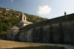 Sénanque: Die Front des Klosters