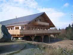 Tagsdrauf waren wir auf Torfhaus in der Bavaria Alm zum Essen
