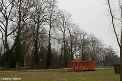 Teil des ehemaligen Landesgartenschau Geländes am Stadtrand von Singen