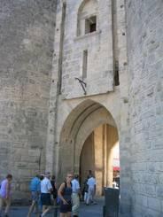 Tor in der Stadtmauer von Aigues-Mortes