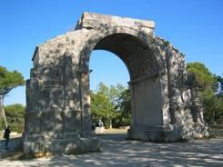 Triumphbogen der römischen Stadt Glanum