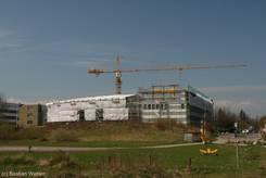 Uni Lübeck: Baufortschritt von Haus 64 am 13.04.2010