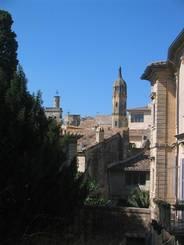Uzès: Blick in die Stadt