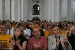 Viel Publikum in der Petrikirche