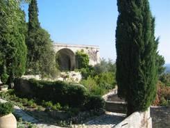 Villeneuve-lès-Avignon: Garten im Fort Saint-André