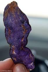 Violette Chips aus Frankreich
