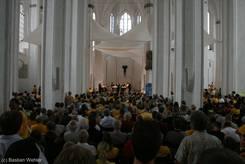 Volles Haus bei der Diskussionsrunde in St. Petri