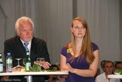 Wolfgang Kubicki und Linda Krause